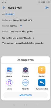 Huawei P20 - E-Mail - E-Mail versenden - 10 / 17