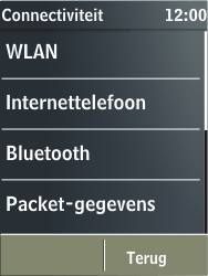 Nokia X3-02 - Wifi - handmatig instellen - Stap 4