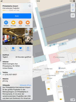 Apple iPad Pro 9.7 inch - iOS 11 - Indoor-Karten (Einkaufszentren/Flughäfen) - 7 / 12