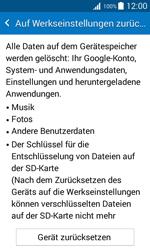 Samsung Galaxy Xcover 3 - Fehlerbehebung - Handy zurücksetzen - 2 / 2