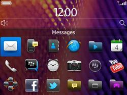 BlackBerry 9360 Curve - E-mail - Envoi d