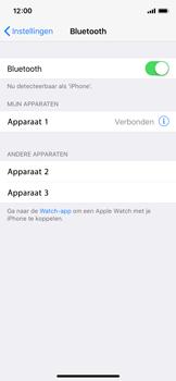 Apple iPhone X - bluetooth - headset, carkit verbinding - stap 6
