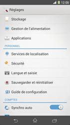 Sony Xpéria Z1 - Sécuriser votre mobile - Activer le code de verrouillage - Étape 4