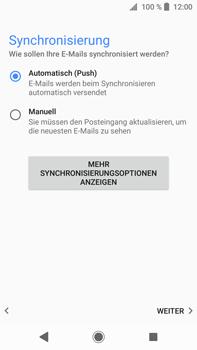 Sony Xperia XA2 Ultra - E-Mail - Konto einrichten - 20 / 25
