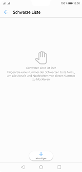 Huawei P20 - Anrufe - Anrufe blockieren - Schritt 7
