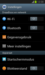 Samsung I8260 Galaxy Core - internet - data uitzetten - stap 4