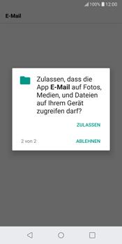 LG G6 - Android Oreo - E-Mail - Konto einrichten (yahoo) - Schritt 14