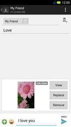 Acer Liquid E3 - MMS - Sending pictures - Step 16