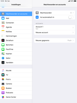 Apple ipad-air-ios-12 - E-mail - Account instellen (POP3 zonder SMTP-verificatie) - Stap 15