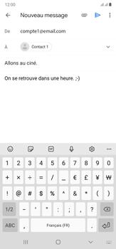 Samsung Galaxy Note20 Ultra 5G - E-mails - Envoyer un e-mail - Étape 10