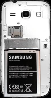 Samsung G3500 Galaxy Core Plus - SIM-Karte - Einlegen - Schritt 4