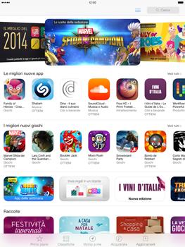 Apple iPad Air - Applicazioni - Come verificare la disponibilità di aggiornamenti per l