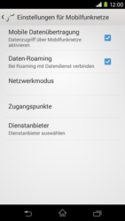 Sony Xperia M2 - Ausland - Im Ausland surfen – Datenroaming - 10 / 12