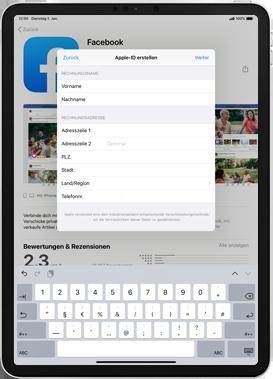 Apple iPad Mini 4 - ipados 13 - Apps - Einrichten des App Stores - Schritt 19