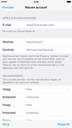 Apple iPhone 6 Plus (iOS 8) - apps - account instellen - stap 13