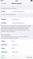 Apple iPhone 6 Plus (Model A1524) - Applicaties - Account aanmaken - Stap 13