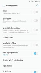 Samsung Galaxy S7 Edge - Android N - Internet e roaming dati - Come verificare se la connessione dati è abilitata - Fase 5