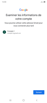 Samsung Galaxy Note20 Ultra 5G - Applications - Créer un compte - Étape 15