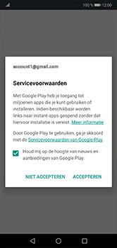 Huawei P20 lite - apps - account instellen - stap 17