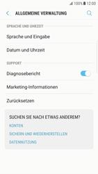 Samsung Galaxy S6 Edge - Android Nougat - Gerät - Zurücksetzen auf die Werkseinstellungen - Schritt 5