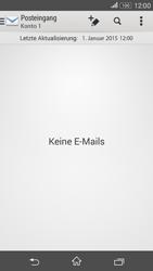 Sony Xperia E4G - E-Mail - E-Mail versenden - 4 / 16