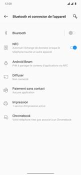 OnePlus 7T Pro - Internet et connexion - Connexion avec un équipement multimédia via Bluetooth - Étape 6