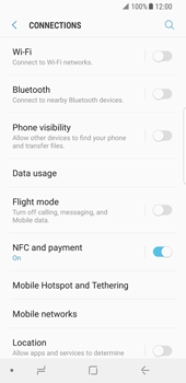 Samsung Galaxy S8 - Android Oreo - Network - Enable 4G/LTE - Step 5