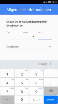 Huawei Mate 9 Pro - Apps - Konto anlegen und einrichten - Schritt 7
