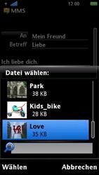 Sony Ericsson U5i Vivaz - MMS - Erstellen und senden - 0 / 0