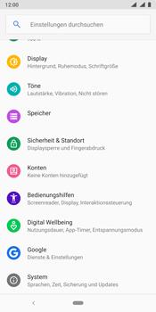 Nokia 9 - Fehlerbehebung - Handy zurücksetzen - Schritt 6