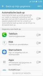Samsung Galaxy S7 - Beveiliging en ouderlijk toezicht - Samsung account synchroniseren - Stap 6