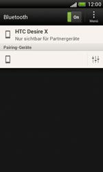 HTC Desire X - Bluetooth - Verbinden von Geräten - Schritt 8
