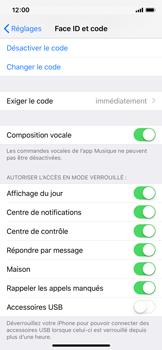 Apple iPhone XS - Sécurité - activéz le code PIN de l'appareil - Étape 8