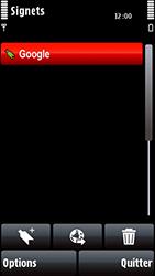 Nokia 5800 Xpress Music - Internet - navigation sur Internet - Étape 9