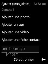 Nokia 3310 - Contact, Appels, SMS/MMS - Envoyer un MMS - Étape 12