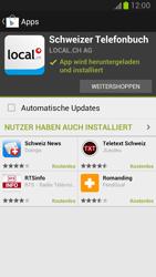 Samsung Galaxy Note II - Apps - Installieren von Apps - Schritt 9