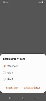 Samsung Galaxy A20e - Contact, Appels, SMS/MMS - Ajouter un contact - Étape 6