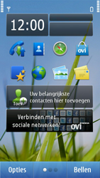 Nokia N8-00 - bluetooth - aanzetten - stap 1