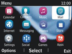 Nokia Asha 201 - Email - Manual configuration - Step 3