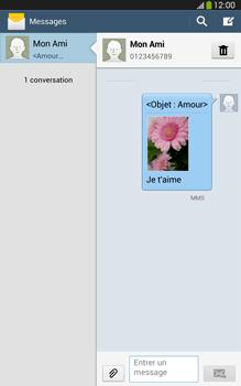 Samsung Galaxy Tab 3 8 4G - Contact, Appels, SMS/MMS - Envoyer un MMS - Étape 21
