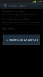 Samsung Galaxy S III LTE - Netzwerk - Manuelle Netzwerkwahl - Schritt 9