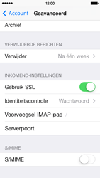 Apple iPhone 5s iOS 8 - E-mail - Account instellen (IMAP zonder SMTP-verificatie) - Stap 24