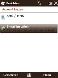 HTC T3333 Touch II - e-mail - handmatig instellen - stap 4