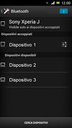 Sony Xperia J - Bluetooth - Collegamento dei dispositivi - Fase 8