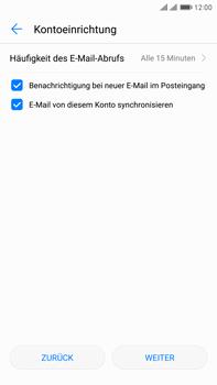 Huawei Mate 9 Pro - E-Mail - Konto einrichten - Schritt 17