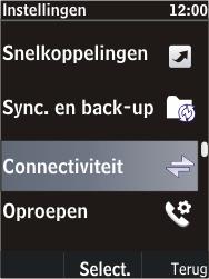 Nokia C2-05 - bluetooth - aanzetten - stap 4