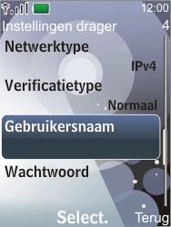 Nokia 7210 supernova - Internet - Handmatig instellen - Stap 13