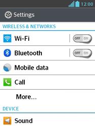 LG E430 Optimus L3 II - Internet - Manual configuration - Step 4