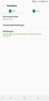 Samsung Galaxy J4 Plus - voicemail - handmatig instellen - stap 9