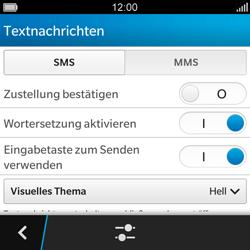 BlackBerry Q5 - MMS - Manuelle Konfiguration - 6 / 15